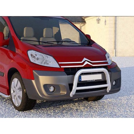 RVS pushbar Citroën Jumpy 2007-2015 (dwarsbalk)