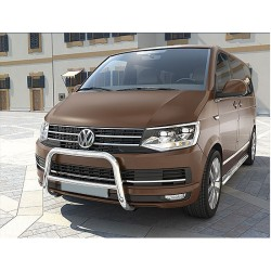 RVS Pushbar Crossbar VW Transporter T6 (TÜV)