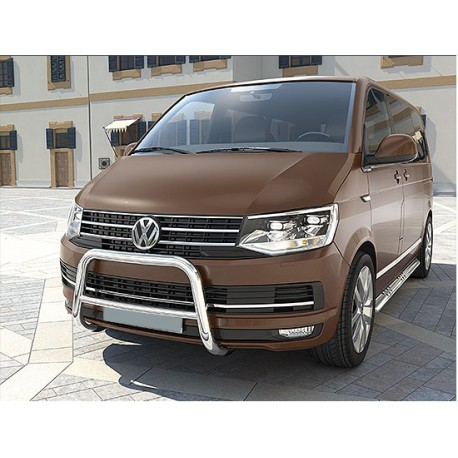 RVS pushbar Volkswagen Transporter T6 (dwarsbalk)