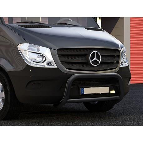 RVS pushbar Mercedes Sprinter BLACK