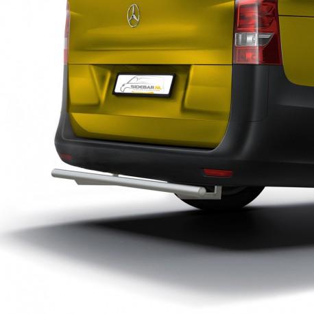 RVS Backbar Mercedes Vito Geborsteld 2014+