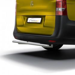RVS backbar Mercedes Vito gepolijst 2014+