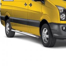 Sidebars Volkswagen Crafter gepolijst