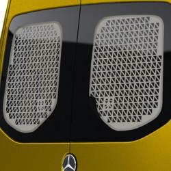 Raamroosters Mercedes Sprinter Deuren Wit 2018+