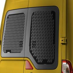 Raamroosters Renault Master Deuren 2010+ Zwart