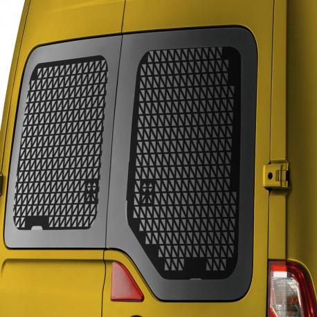 Raamroosters Opel Movano deuren 2010+ Zwart