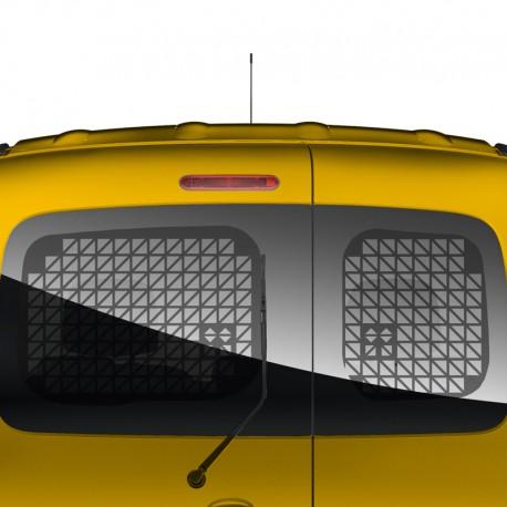 Raamroosters Renault Kangoo 2008+ Deuren Zwart