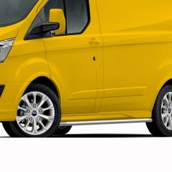 Sidebars Ford Transit Custom gepolijst