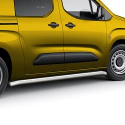 Sidebars 64mm Peugeot Partner 2019+ Gepolijst