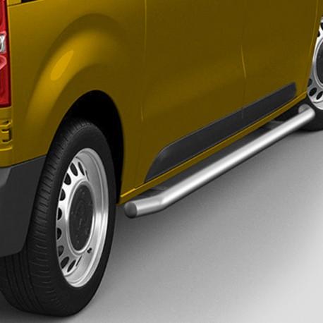 Sidebars Citroën Jumpy gepolijst