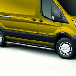 Sidebars Ford Transit Gepolijst 2014+