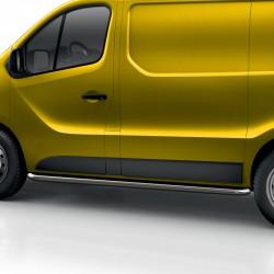 Sidebars Opel Vivaro Gepolijst 2014+