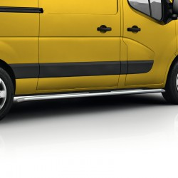 Sidebars Opel Movano gepolijst