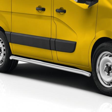 Sidebars Renault Master gepolijst