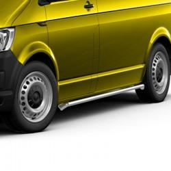 Sidebars Volkswagen T5 - T6 Gepolijst