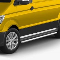 sidebars Volkswagen Crafter gepolijst 2017+