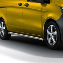 Sidebars Mercedes Vito geborsteld 2014+
