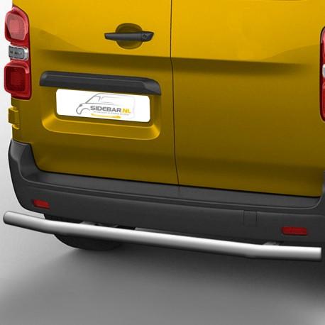 RVS backbar Peugeot Expert gepolijst 2016+