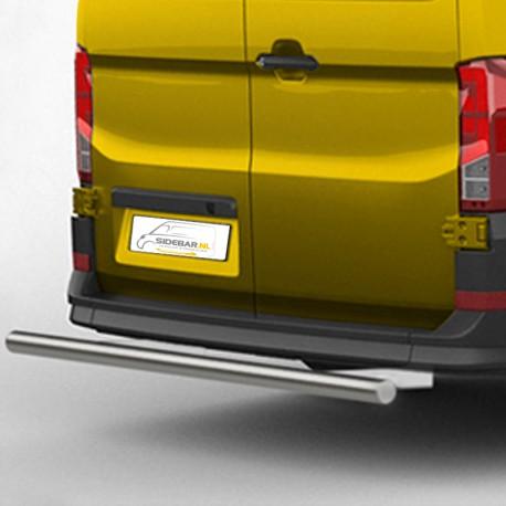 RVS backbar Volkswagen Crafter geborsteld 2017+