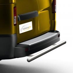 RVS backbar Opel Vivaro geborsteld 2014+