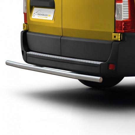 RVS backbar Nissan NV400 gepolijst 2010+