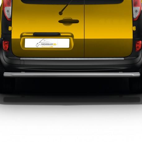 RVS backbar Fiat Doblo geborsteld