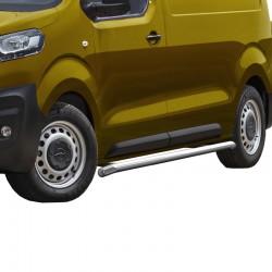 Sidebars 64mm Opel Vivaro 2019+ Gepolijst