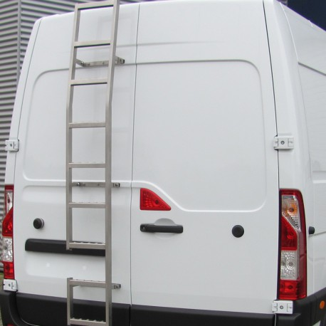 Deurladder RVS Ford Transit Custom H1