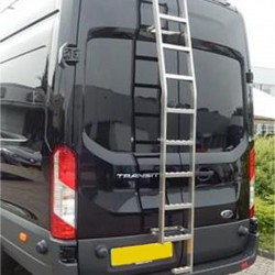 Deurladder RVS Ford Transit 2014+