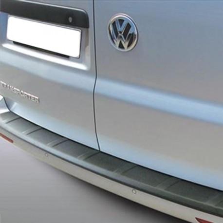 Bumperbescherming Volkswagen Transporter T6 Deuren Zwart