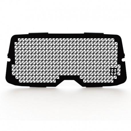 zwart Raamrooster achterklep Volkswagen Caddy t/m 2020