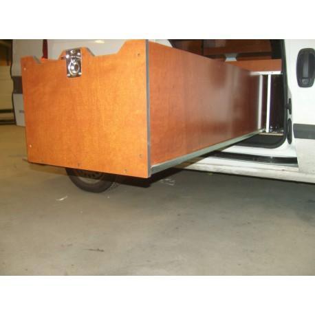 ladegeleider laadcabine bedrijfswagen