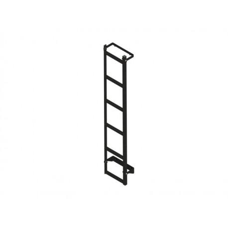 Zwarte ladder Peugeot Boxer voor alu imperiaal H1